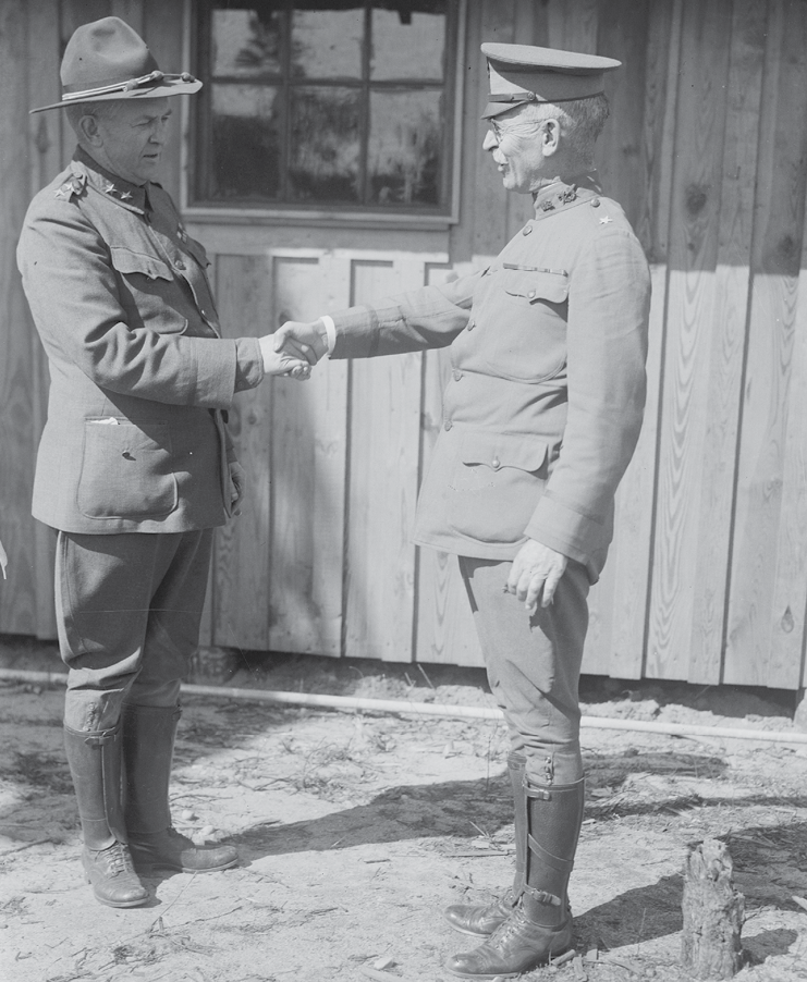 General Pershing and his JAG